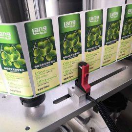 Detalhes da máquina automática de etiquetagem frente e verso frente e verso