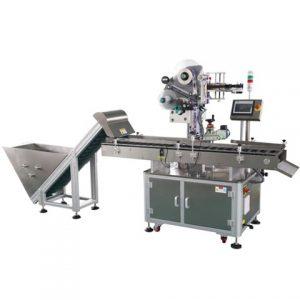 Máquina de rotulagem de superfície de bandeja