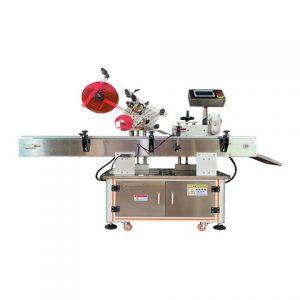 Máquina automática de etiquetagem de tampas