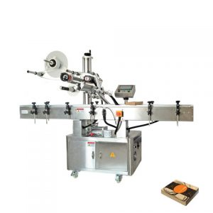 Máquina de rotulagem de adesivos autoadesivos para garrafas Sirup