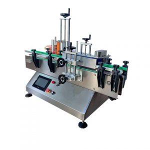 Máquina automática de rotulagem de garrafas de desinfetante