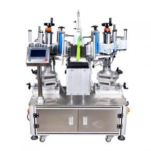 Máquina de rotulagem de adesivos de garrafas de 25ml com impressora