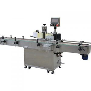 Máquina de etiquetagem automática plana