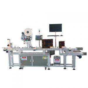 Máquinas de etiquetagem plana automática