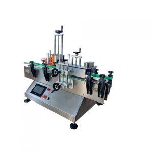 Máquina coladora de etiquetas de dois cantos