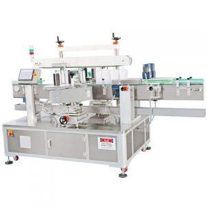 Máquina profissional de etiquetagem automática de etiquetas de plástico para ativos