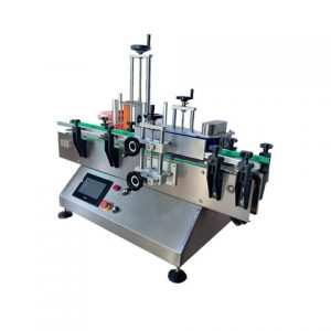 Máquina aplicadora de etiqueta automática de superfície superior de adesivos