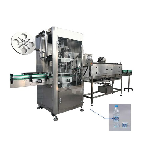 topside conner tail and side labeling machine, automatic round bottle...