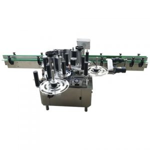 Plastic Lid Top Surface Sticker Labeling Machine