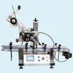 Máquina de rotulagem de frascos de alumínio superior inferior