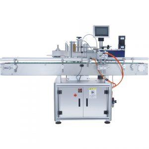 Máquina automática de rotulagem de garrafa plana e dupla face