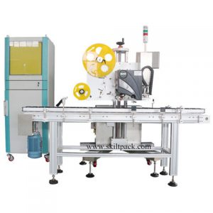 Clothing Hang Tags Feeding Labeling Machine Automatic
