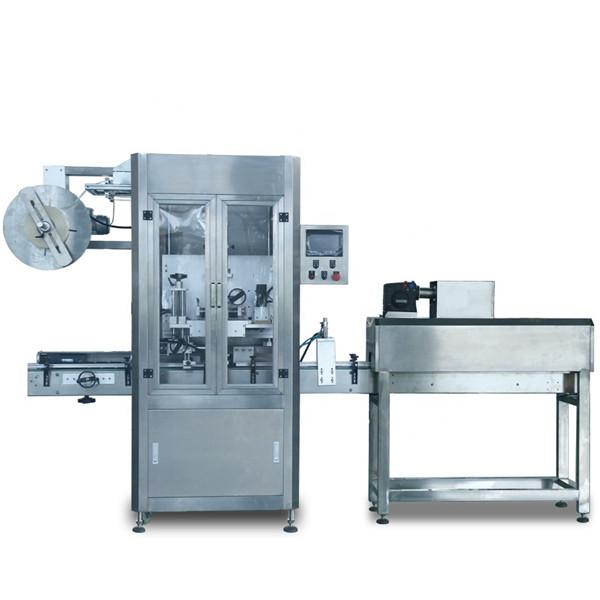 Máquina automática de rotulagem de luva retrátil