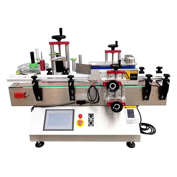 Máquina automática de rotulagem de garrafas de mesa