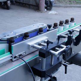 Detalhes da máquina de rotulagem automática de etiquetas para garrafas redondas verticais